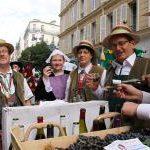 Винный фестиваль на Монмартре